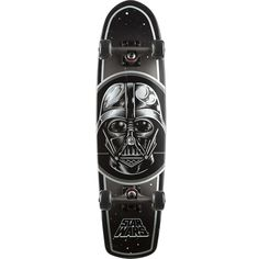 Star Wars Darth Vader Jammer Complete Cruiser by Santa Cruz. Feel the Force when you step foot on the Santa Cruz Star Wars Darth Vader Complete Cruiser. It has a sturdy maple deck and smooth rolling OJ wheels, and it's completely assembled so you don't have to waste any time before terrorizing your local galaxy or neighborhood. http://www.zocko.com/z/JHP7v