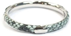 "GALA by Daniela Swaebe Message ""Faith"" Bangle in Turquoise on shopstyle.com"