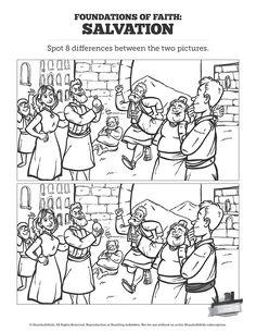 Matthew 2 The Magi Christmas Story Kids Spot the