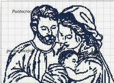 Cross Stitch Embroidery, Cross Stitch Patterns, Crochet Patterns, Filet Crochet Charts, Holy Mary, Holiday Crochet, Monochrom, Christmas Cross, String Art