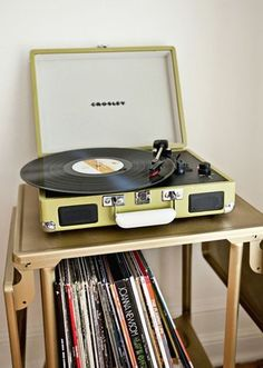 Record Player; yes please.