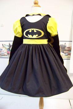 Super Hero   Dress  Children sizes 12m/18 by RuthSewingRoomDesign, $65.95