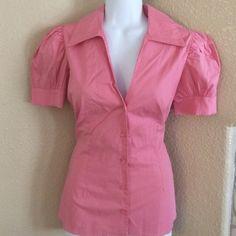 Cute top Good condition. Agaci Tops Button Down Shirts