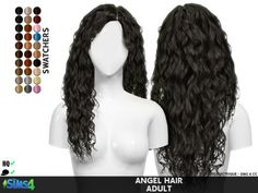 ANGEL HAIR by Thiago Mitchell at Coupure Electrique • Sims 4 Updates