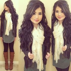 Outfits for teens, winter outfit for teen girls, cute teen outfits, casual fall Winter Outfit For Teen Girls, Cute Teen Outfits, Casual Fall Outfits, Fall Winter Outfits, Outfits For Teens, Autumn Winter Fashion, Girl Outfits, Fashion Outfits, Fashion Trends
