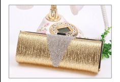 Free Shipping Hot sale New Luxury bag Full crystal ol women's  clutch bag party bag evening bag handbags US $28.58