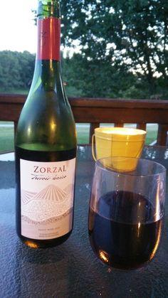 Beautiful night, beautiful wine.  #Happylife