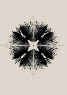 Amazing flow theoryl / Data Viz / Black and white