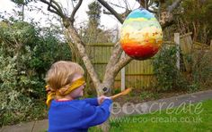 Look whats occuring on the blog! http://www.eco-create.co.uk/find/easter-egg-pinata-upcycling-kids-projects/ … #ecocreatehour #kidsprojects #easter