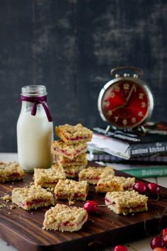 Cherry & Plum Crumb Bars - plum tree made plums again this year. Maybe I will have to make these?