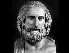 """Protágoras de Abdera  fue un sofista griego. Admirado experto en retórica que recorría el mundo griego cobrando elevadas tarifas por sus conocimientos acerca del correcto uso de las palabras u ortoepía. Platón le acredita como el inventor del papel del sofista profesional o profesor de """"virtud""""."""