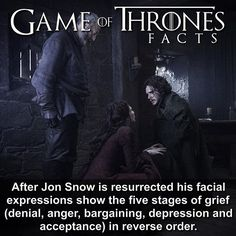Game of thrones facts, Jon Snow