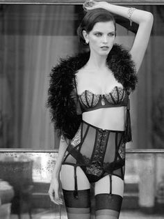 La Perla lingerie. Someday, when I'm incredibly loaded (by whatever means an English major could accomplish such a thing,) I will spend outrageous amounts of money on fabulous lingerie.