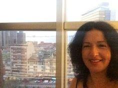 Show Host, Lisa Chait, in Luanda
