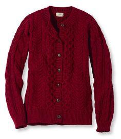 Women's 1912 Heritage Sweater, Fisherman's Cardigan at L.L.Bean