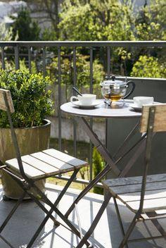 Balcony Outdoor Tables, Outdoor Decor, Balcony, Outdoor Furniture Sets, Home Decor, Interior Design, Home Interior Design, Outdoor Balcony, Home Decoration