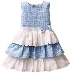 Checks Dress With Bow - Light Blue (3 - 4 Years) Pine http://www.amazon.in/dp/B00KRYLM3I/ref=cm_sw_r_pi_dp_a9Javb1RC43B3