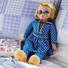 Mrs. Beasley™, Buffy's favorite doll on the popular 1960's TV sitcom Family Affair.  I had one of these dolls