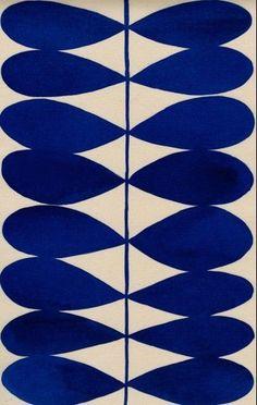 Blue leaves pattern by Luli Sanchez Motifs Textiles, Textile Patterns, Textile Design, Surface Pattern Design, Pattern Art, Graphic Patterns, Print Patterns, Modern Patterns, Pattern Illustration