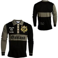 Earth Wind and Rider Bicycle Polo - Long Sleeve - Men's