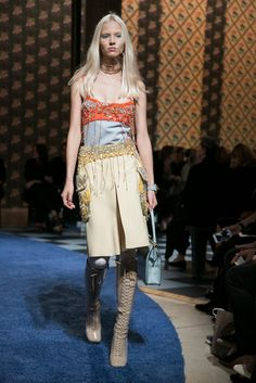 A look from the Miu Miu Spring 2014 RTW collection.