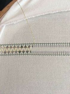 Hardanger Embroidery Stitches More Interesting web site for Punto Antico/ Drawn-thread work. Various Sources for Renaissance Italian embroidery/ drawn thread work… I. Punto Antico From Drawn-thread work has its origins in the distant past: it is carried Embroidery Stitches Tutorial, Types Of Embroidery, Hand Embroidery Patterns, Embroidery Techniques, Ribbon Embroidery, Hardanger Embroidery, Cross Stitch Embroidery, Hem Stitch, Drawn Thread