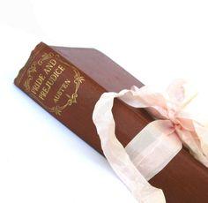 Pride and Prejudice by Jane Austen, Odhams Press, LONDON, Old Pride and Prejudice Book, Vintage Austen Book, Austen Wedding Decor, Old Book by LadyFransLibrary on Etsy
