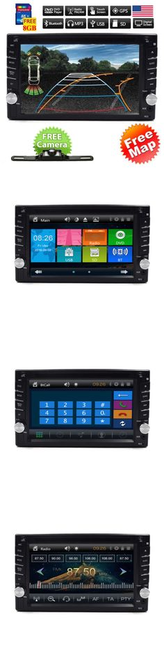 Video In-Dash Units w GPS: Backup Camera+Gps Double 2 Din Car Stereo Radio Cd Dvd Player Bluetooth With Map -> BUY IT NOW ONLY: $109.23 on eBay!