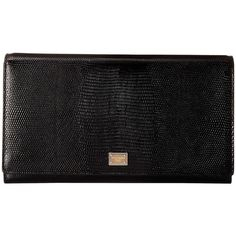 Dolce & Gabbana Clutch Bag (Black) Clutch Handbags (31,315 PHP) ❤ liked on Polyvore featuring bags, handbags, clutches, black, purses, genuine leather handbags, leather clutches, dolce gabbana handbags, leather hand bags and leather handbag purse