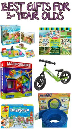 Best Gifts for 3 Year Olds The ultimate list of gift ideas a year old boy, everything
