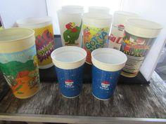 Advertising cup Lot Pizza Hut Pepsi Simpsons Captain Flint