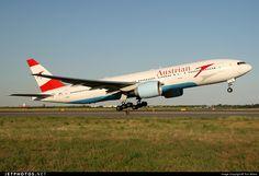 Austrian Airlines - Boeing 777-200ER OE-LPC @ New York John F. Kennedy Int'l Airport KJFK.