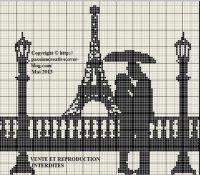 Parigi bianco e nero