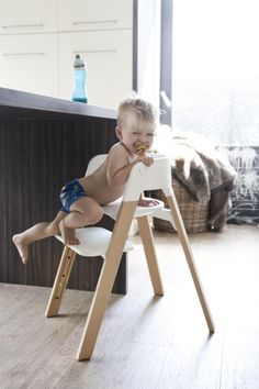 Embrace your little one's independence with Stokke Steps! Height adjustable footplate makes it easy to adjust for a growing child