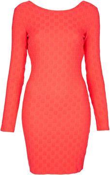 POPSUGAR ShopStyle: Topshop Texture Mini Bodycon Dress