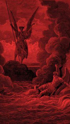 Pink Wallpaper Anime, Dark Wallpaper, Rennaissance Art, Renaissance, Satanic Art, Arte Obscura, Occult Art, Hippie Art, Arte Pop