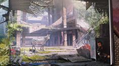 Last of Us concept Art Joel And Ellie, Matte Painting, Environment Concept Art, Post Apocalyptic, Game Art, World, Illustration, Inspiration, Backgrounds