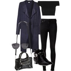 Sans titre #1948 by christina95styles on Polyvore featuring Scoop, Michael Kors, rag & bone, Yves Saint Laurent, Balenciaga and Christian Dior