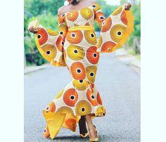 African print dress / African dresses / African mermaid dress