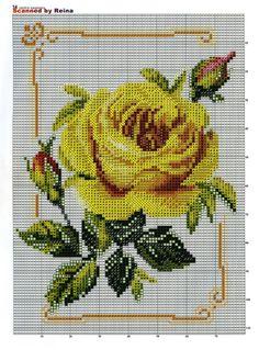 Gallery.ru / Фото #27 - 228 - markisa81 Cute Cross Stitch, Cross Stitch Rose, Cross Stitch Borders, Cross Stitch Flowers, Cross Stitch Charts, Cross Stitching, Cross Stitch Embroidery, Cross Stitch Patterns, Hand Work Embroidery
