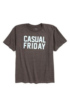 Caleb~ Large Big Boy Kid Dangerous Casual Friday Graphic T-Shirt (Toddler Boys, Little Boys & Big Boys) available at #Nordstrom