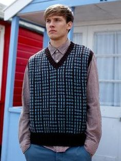 Free+Knitting+Pattern+-+Men's+Vests:+Jack+-+Fairisle+Slipover+Vest