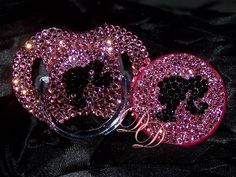 Bling Pacifiers : Sassy Pacifiers : Pacifier Bling : Baby Bling Pacifiers I am going to remember this for when I have kids