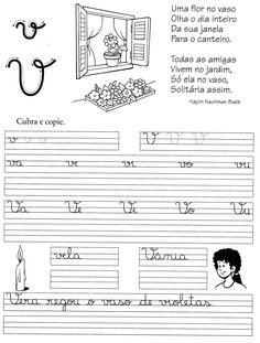 Blog Professor Zezinho : 87 Atividades para a Alfabetização Cursive Handwriting, Kids English, Notebook, Bullet Journal, Education, Albert Camus, Letter N Activities, Abc Centers, Sight Word Activities