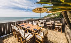 Steephill Cove Restaurant - my favourite seafood restaurant on the island ! You need to book though .... it is open for the season until September. Check it out here ....