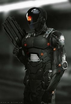 ArtStation - -Gravitas- Sentinel Guard Shapes, Mario Stabile Awesome abs lay out Robot Concept Art, Armor Concept, Character Concept, Character Art, Arte Robot, Futuristic Armour, Sci Fi Armor, Future Soldier, Suit Of Armor