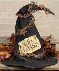 Primitive Witch Hat Decoration
