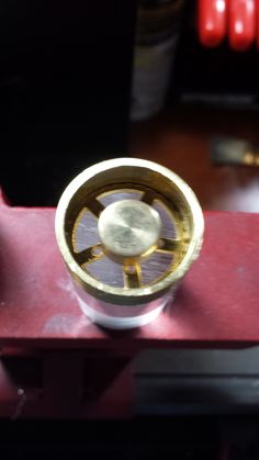 Lightsaber Brass Blade Plug Prototype