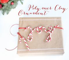 Polymer Clay Weihnachtsornament  http://www.neuesvongestern.de/2014/12/polymer-clay-weihnachtsornament/