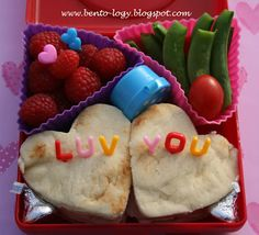 Heart Luv You Bento Lunch
